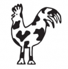 Cow and Rooster Design